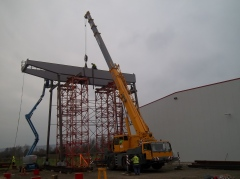 Portálový žeriav GPMJ 40t/11,5m, predmontáž