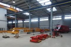 Výroba žeriavov a kladkostrojov - nová hala GIGA