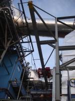 Kladkostroje pre nové odsírovacie zariadenie spálenín v Slovnafte Bratislava, Slovensko