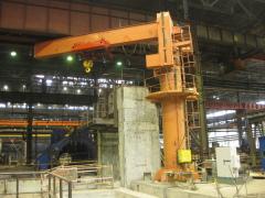 Kladkostroj GHF 16000, smeničovým riadením, pre otočný žeriav, Kazachstan