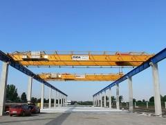 Dvojnosníkové mostové žeriavy, 10