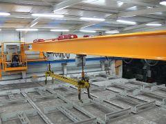 Mostové žeriavy GIGA - mostový žeriav dvojnosníkový GDMJ 3,2t+3,2:14m