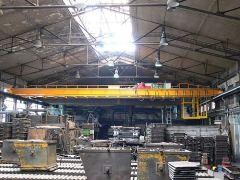 Mostové žeriavy GIGA - mostový žeriav dvojnosníkový GDMJ 5t:18,4m zlievarenský skabínou