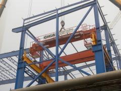 Mostové žeriavy GIGA s nosnosťou 125t a 165t pre elektráreň Počerady, 5
