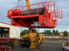 Mostové žeriavy GIGA s nosnosťou 125t a 165t pre elektráreň Počerady, 6