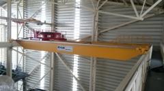 Žeriavy GDMJ 40t-16,73m a GJMJ 4,9t-15,295m po montáži v Terekty, Kazachstan
