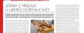 Článok v časopise TECH magazín - Žeriavy z Příšovic pri Liberci dobývajú svet