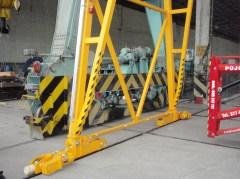Montáž dvojnosníkového portálového žeriava GPMJ 12,5 t-16,38 m