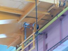 Nové troleje - mostový žeriav GDMJ 12,5t-27,9m po rekonštrukcii