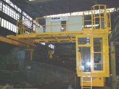 Mostový žeriav GDMJ, po montáži