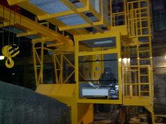 Mostový žeriav GDMJ 3,2 metra, po montáži