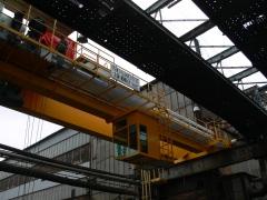 Oživenie mostového žeriava GDMJ 10t-35m, Viadrus