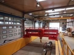 Výroba žeriavov GDMJ 40t, 16,73m a GJMJ 4,9t, 15,285m