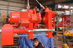 Výroba kladkostrojov pre cementáreň Sterlitamak