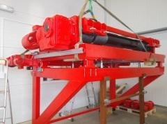 Výroba konzolového kladkostroja pre SSI Schafer