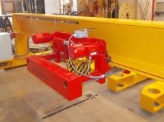 Výroba mostových žeriavov pre SSI Schafer