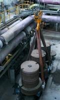 Skúšky mostového žeriava GDMJ 80t-12,5t-25,1m