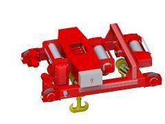Elektrický lanový kladkostroj dvojkoľajový, typ GHM 25000-14-2x4-1-9M,D+GHM 10000-20-4-1-9M,S_5114