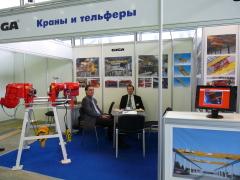 5. . medzinárodný veľtrh zdvíhacej techniky KranExpo 2010 v Moskve, 6