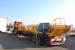 Expedícia žeriavov GDMJ 40t, 16,73m a GJMJ 4,9t-15,285m