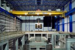 Dvojnosníkový mostový žeriav GDMJ 120t:50t:41,25m