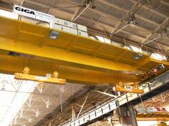 Žeriavy GDMJ 10t+10t-22,2m a GDMJ 12,5t-22,2m po rekonštrukcii