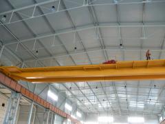 Mostový žeriav GDMJ 12,5t-27,9m po rekonštrukcii