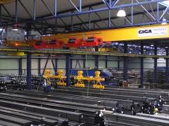 Mostový žeriav GJMJ 1,8t+1,8t-27,5m s lanovou stabilizáciou