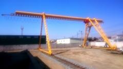 Portálový žeriav s kladkostrojom GIGA v pristave Nachodka