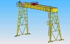 3d-modelovanie-portaloveho-zeriava-gpmj-12-5 t-16-38 m