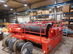 Výroba žeriava GHF 125t