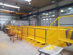 Výroba žeriavov GDMJ 40t-16,73m a GJMJ 4,9t-15,285m