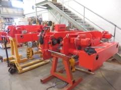 Výroba kladkostrojov pre Uralkhim