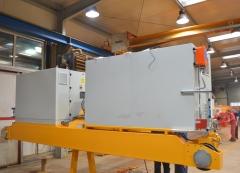 Výroba mostového žeriava GJMJ 1,8t+1,8t-27,5m