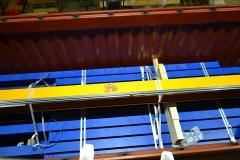 Zámorské balenie žeriava a žeriavovej dráhy pre Mexiko